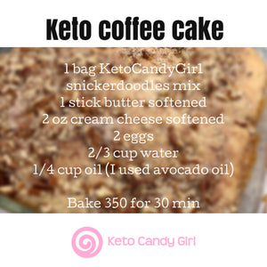 Keto Snickerdoodle Mix