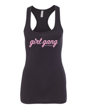 Racer Back Tank Top - Black