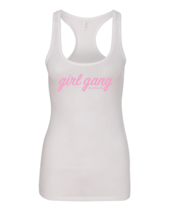 Racerback Tank Top - White
