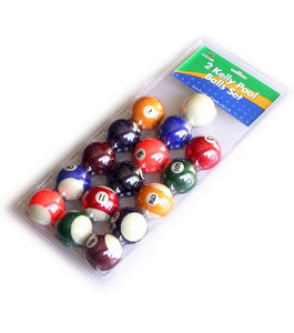 "2"" Kelly Pool Balls"