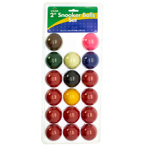 "2"" Snooker Pool Balls"