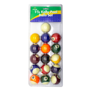 "1 7/8"" Kelly Pool Balls"