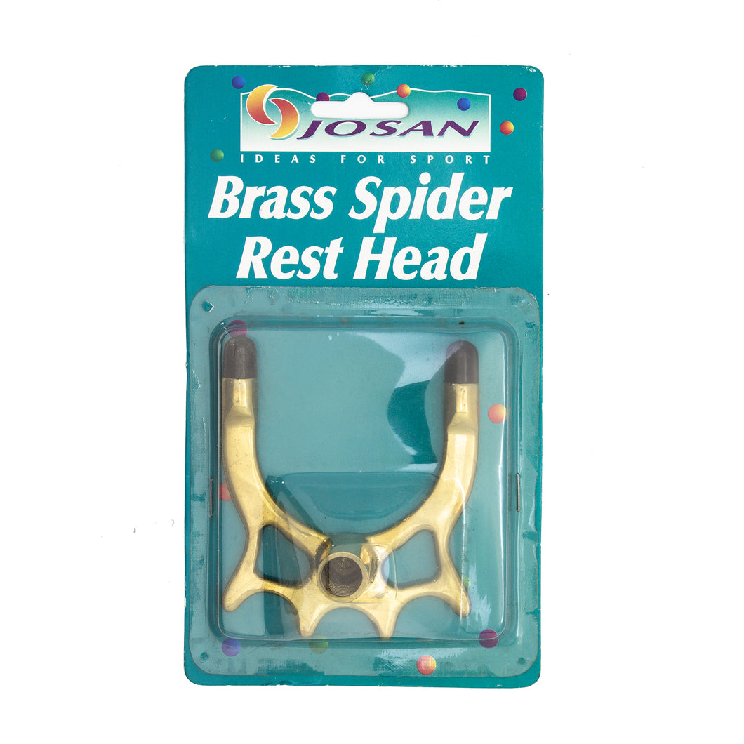 Brass Spider Head Rest