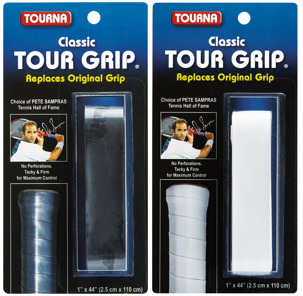 Classic Tour Grip in Black or White