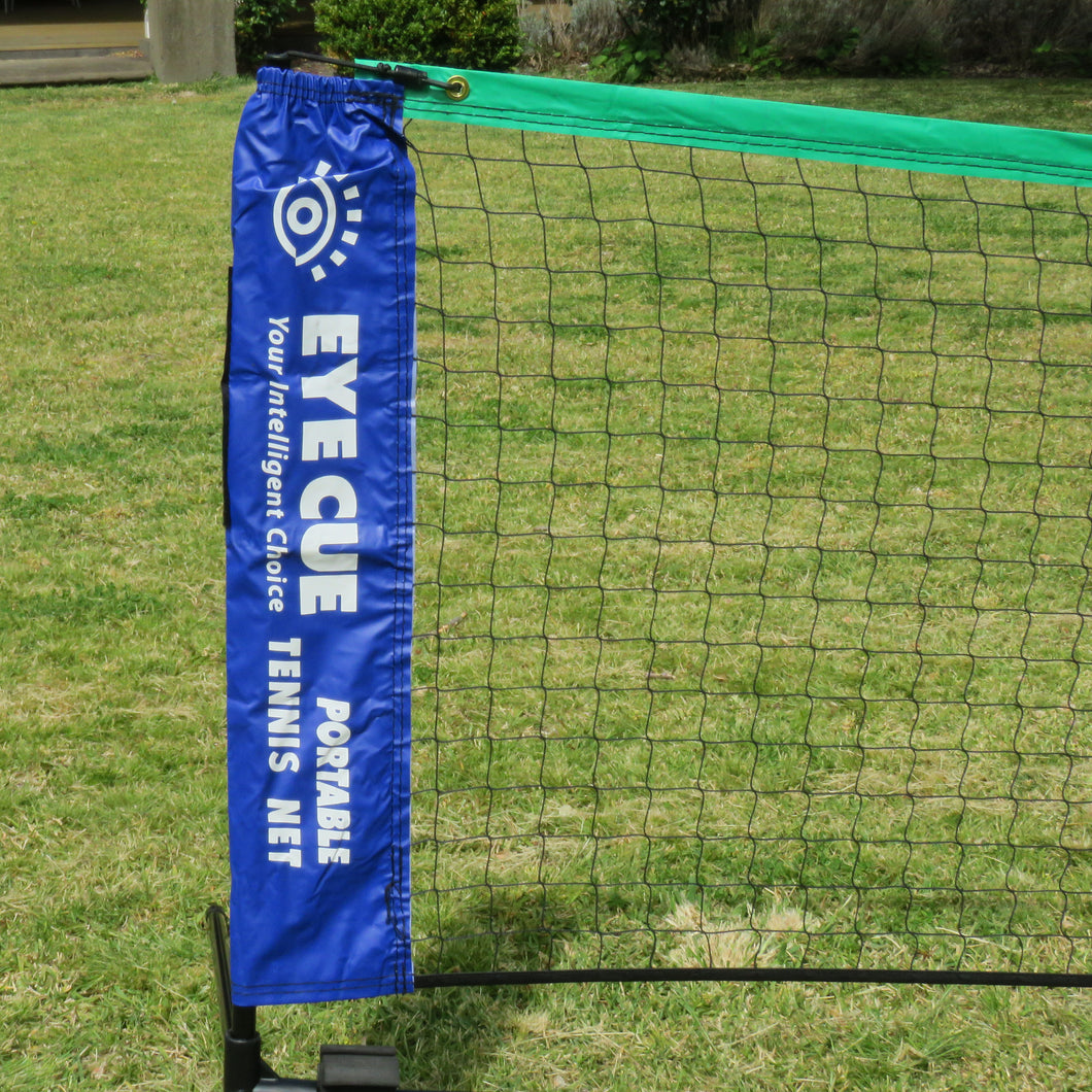 Eye Cue Portable Tennis Net & Post Set - 6m