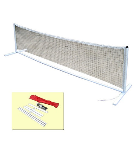 Eye Cue Portable Tennis Net & Post Set - 3m