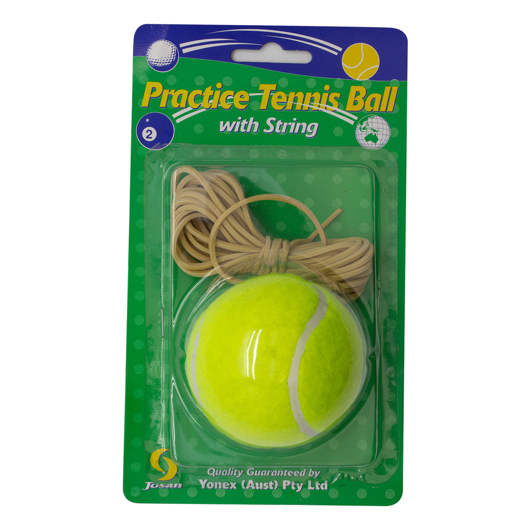 Josan Practice Tennis Ball with String