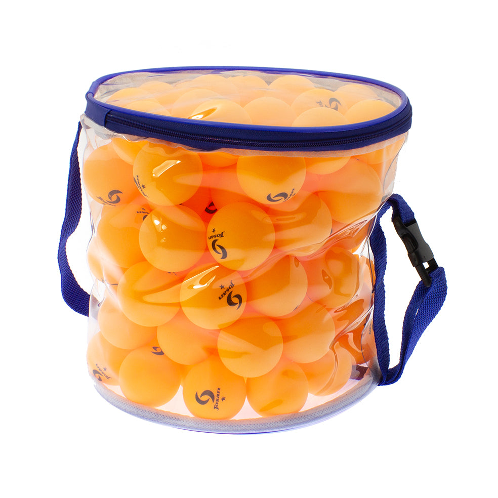 Josan 100x Refill Orange 1-star Table Tennis Balls