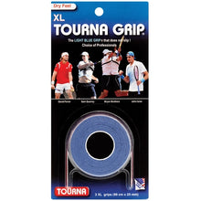 Load image into Gallery viewer, Tourna Grip (Original Overgrip USA 3 Pack extra long)