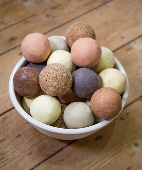 Est Hand Rolled Soap Balls - Haven Botanical - byron bay