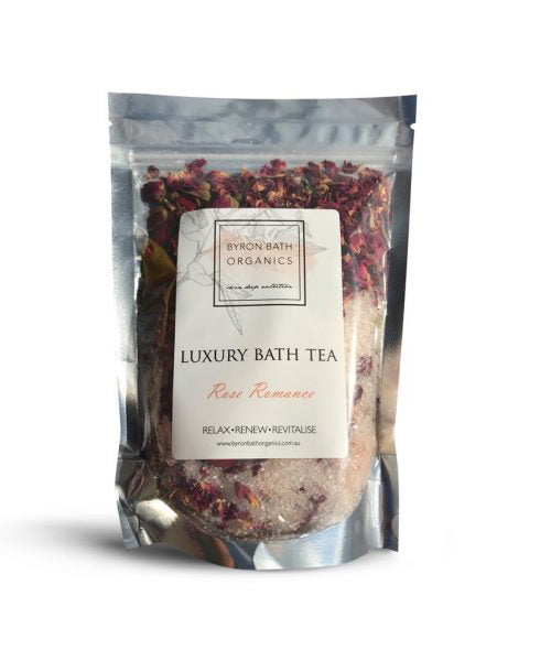 Rose Romance Bath Tea - Haven Botanical - byron bay