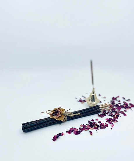 Himalayan Rose Incense Sticks - Haven Botanical - byron bay