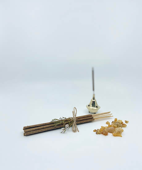 Frankincense Resin Incense Sticks - Haven Botanical - byron bay
