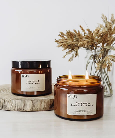 Drift and Co Candles X Large - Haven Botanical - byron bay