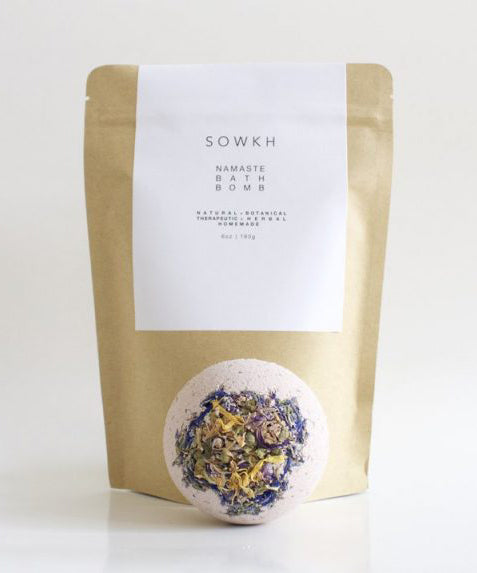 Namaste Bath Bomb - Haven Botanical - byron bay