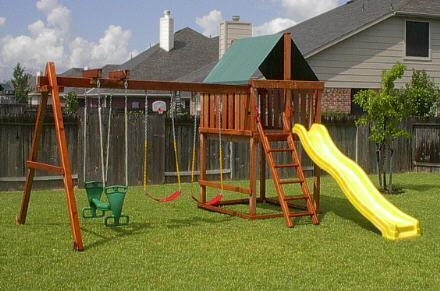 Excellent Wooden Swing Set Kits