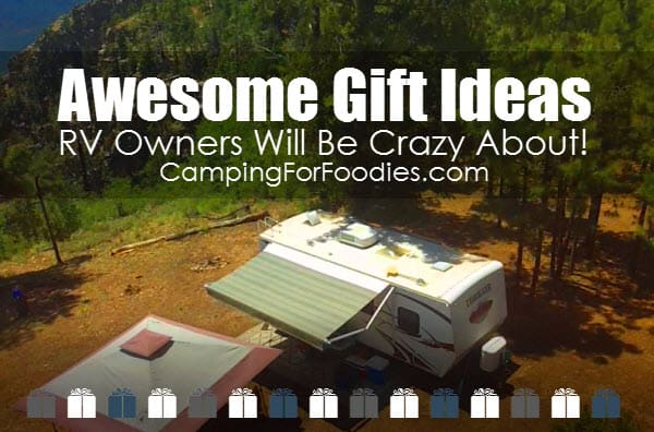 Looking for unique camper gifts? We found tons of them! From ingenious RV accessories and electronic camper gadgets to fun travel journals, decor, kitchen/barware and more! We've got a great list of RV gifts that are awesome housewarming ideas for...