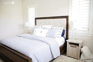 Creating A Coastal Bedroom with Walmart