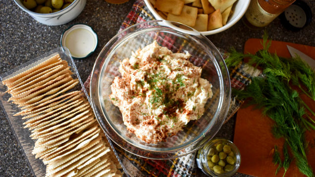 Make smoked trout dip only if you're prepared to be hooked forever