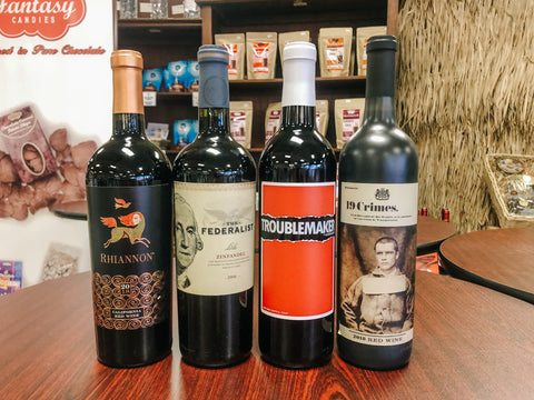 delicious red wines