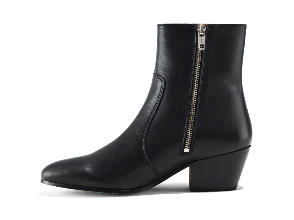 Gracie Zip Boot - Blackbird