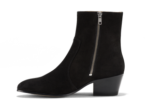 Gracie Zip Boot - Black Coffee - Everyday Hero