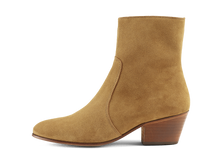 Load image into Gallery viewer, Gracie Zip Boot - Tobacco Road