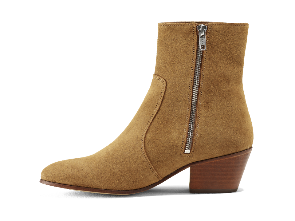 Gracie Zip Boot - Tobacco Road