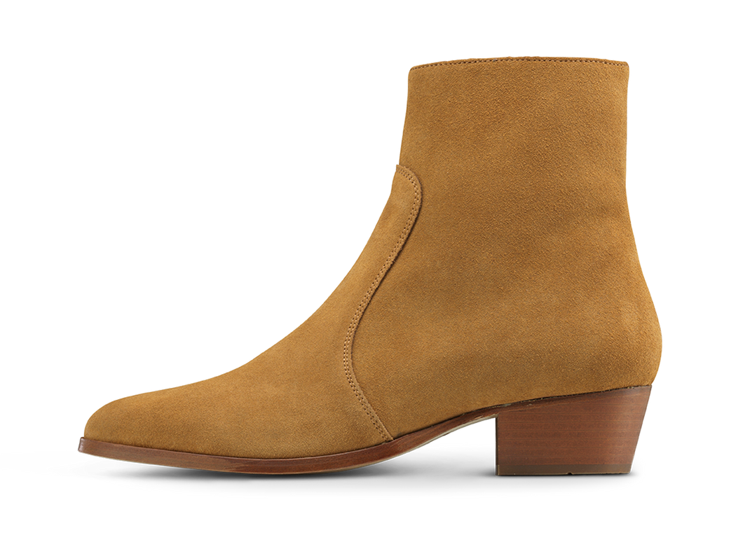 Zimmerman Zip Boot - Tobacco Road - Everyday Hero