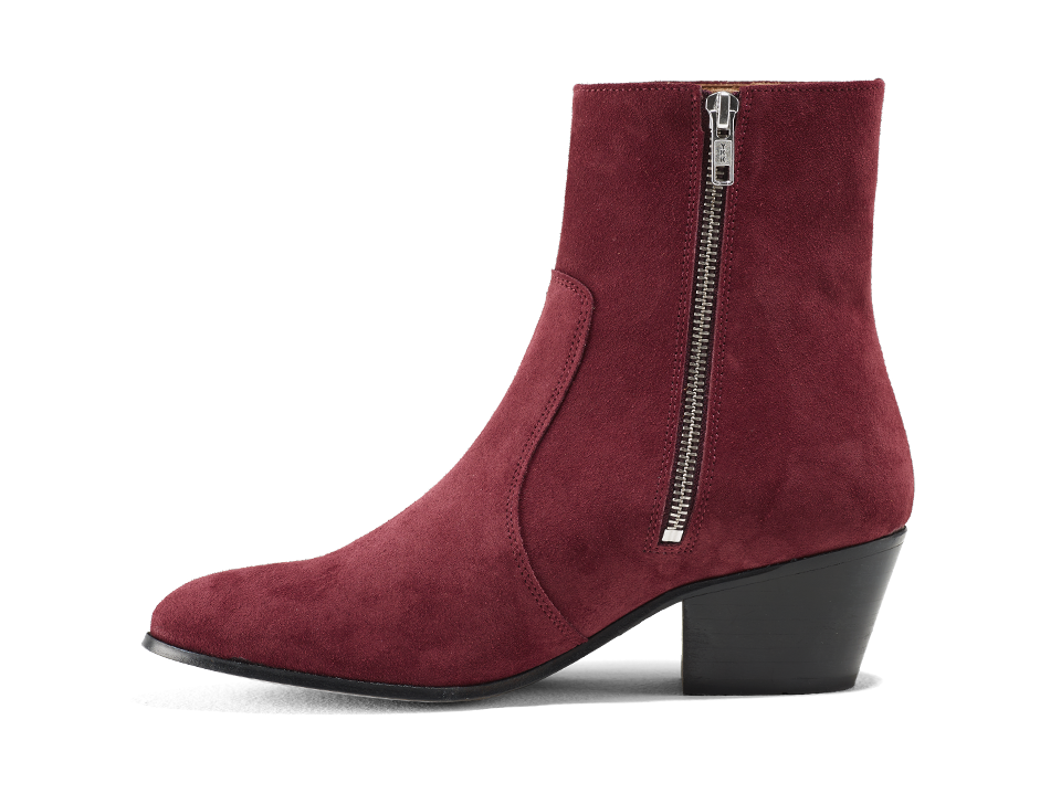 Gracie Zip Boot - Little Red Rooster