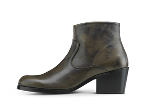 Manero Boot - Elephant Black