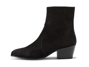 Gracie Zip Boot - Black Coffee
