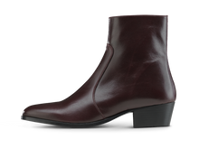 Load image into Gallery viewer, Zimmerman Zip Boot - Burgundy - Everyday Hero