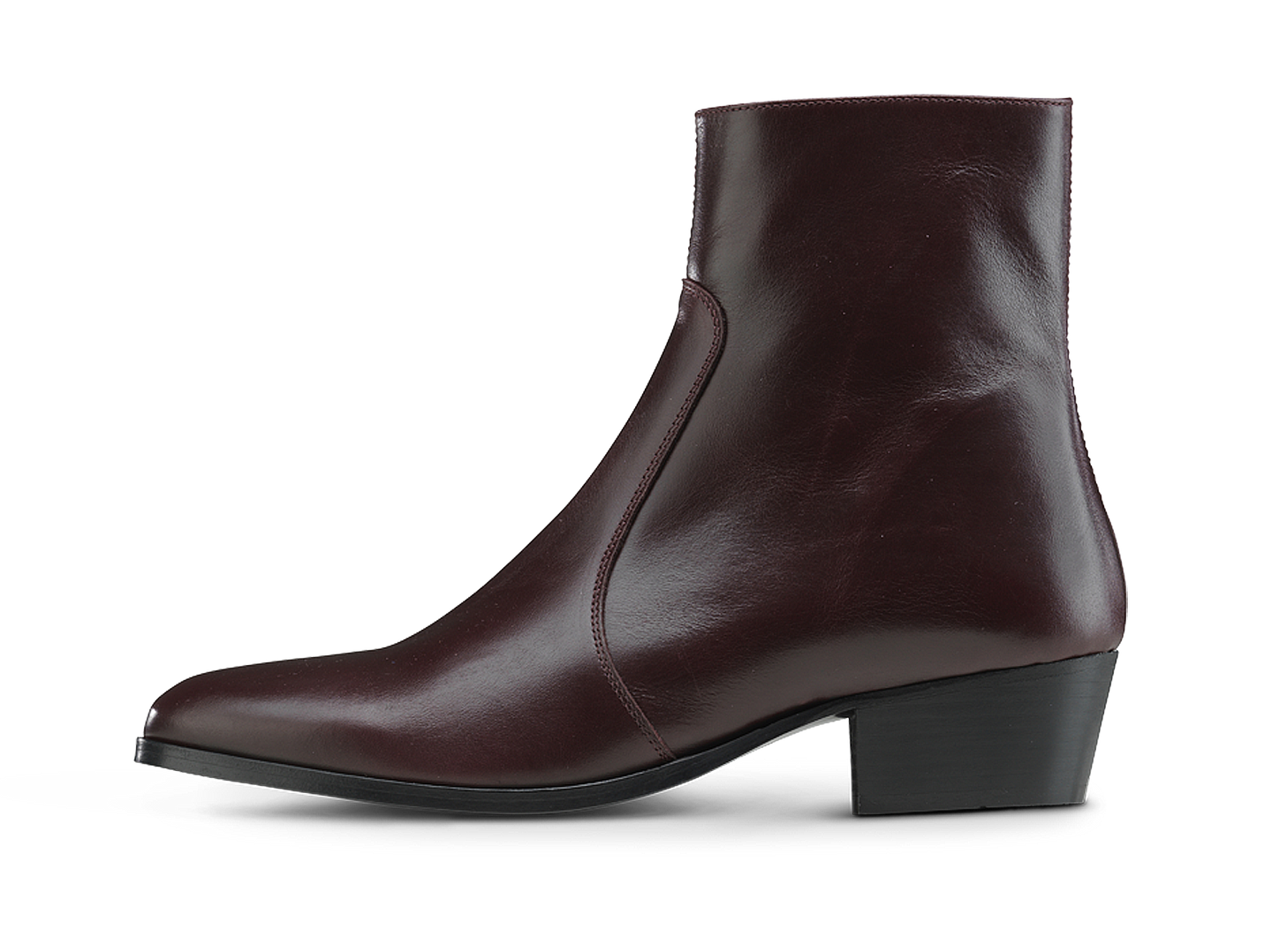 Zimmerman Zip Boot - Burgundy - Everyday Hero