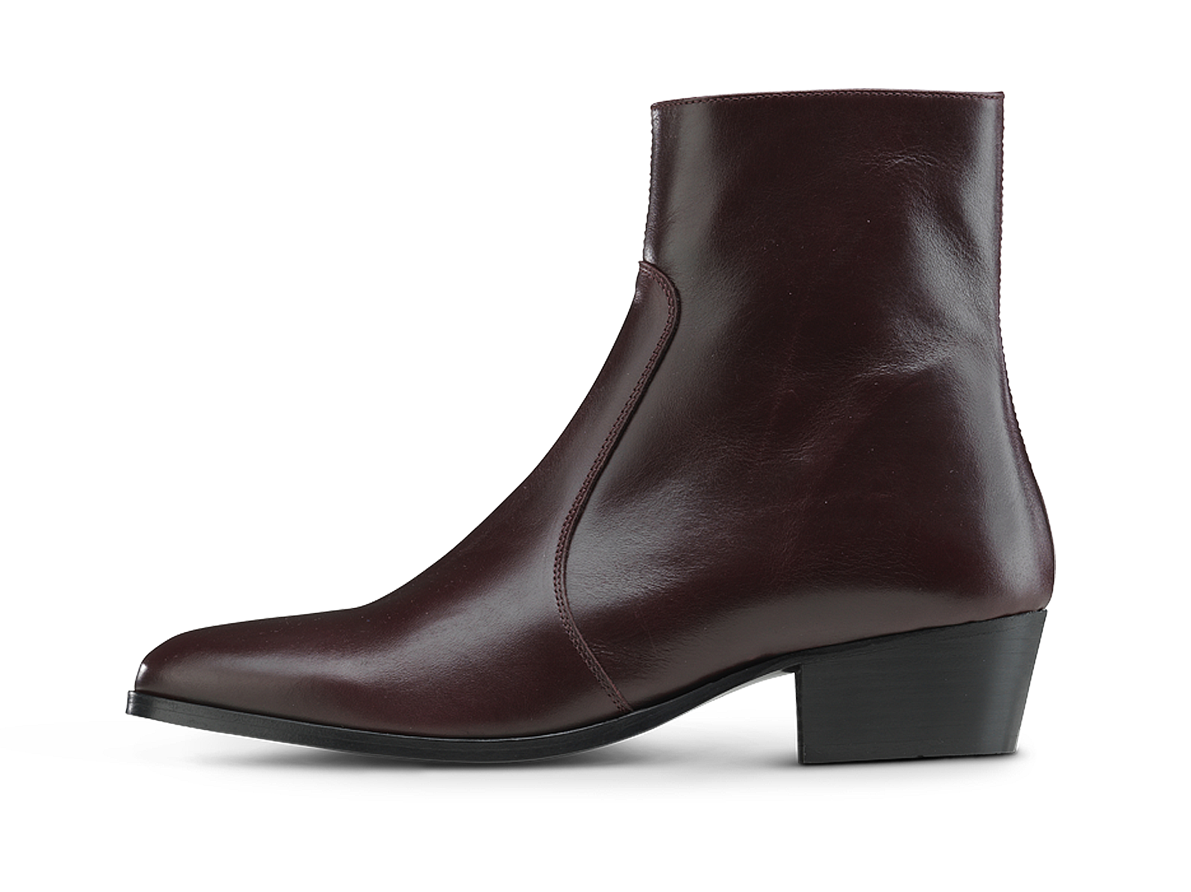 Zimmerman Zip Boot - Burgundy