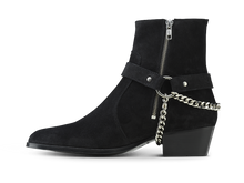 Load image into Gallery viewer, Zimmerman Chain Boot - Black Coffee