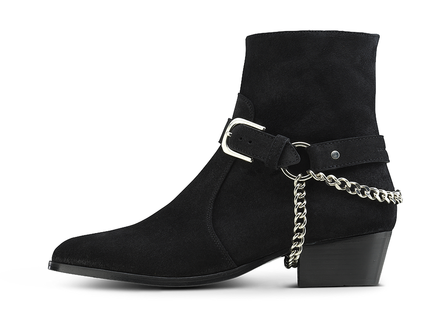 Zimmerman Chain Boot - Black Coffee - Everyday Hero