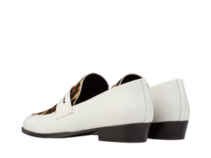 Loafer Deville - White/Leo - Everyday Hero