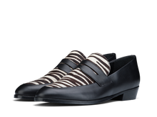 Load image into Gallery viewer, Loafer Deville - Black/Zebra - Everyday Hero