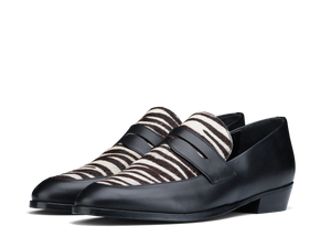 Loafer Deville - Black/Zebra - Everyday Hero