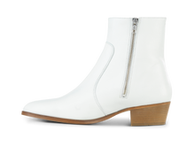 Load image into Gallery viewer, Zimmerman Zip Boot - White - Everyday Hero