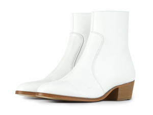Zimmerman Zip Boot - White - Everyday Hero
