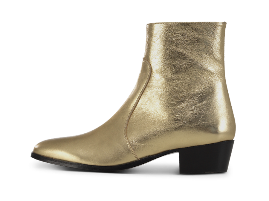 Zimmerman Zip Boot - Heart of Gold - Everyday Hero