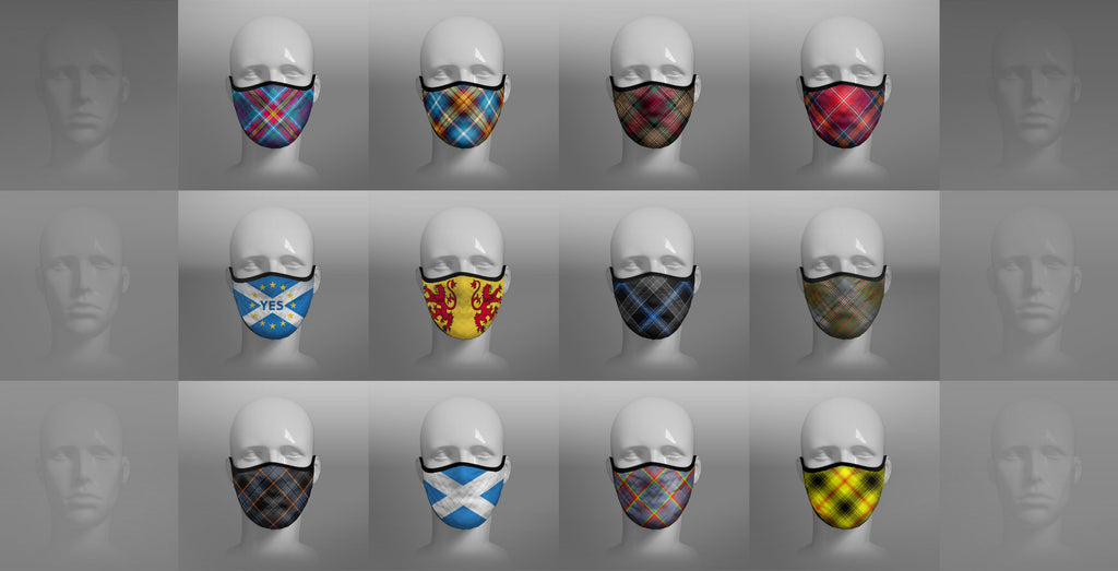 TARTAN FACE MASKS Now Available!