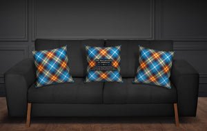 The Declaration of Arbroath Tartan Cushion