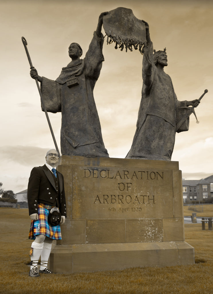 Steven Patrick Sim and the Declaration of Arbroath