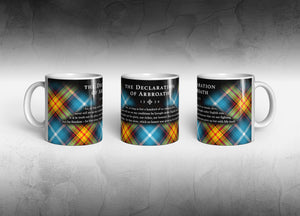 The Official Declaration Tartan Mug - by Steven Patrick Sim, the Tartan Artisan®