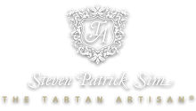 STEVEN PATRICK SIM - THE TARTAN ARTISAN ® - Creator of the Declaration of Arbroath Fine Art Gold Metallic Print