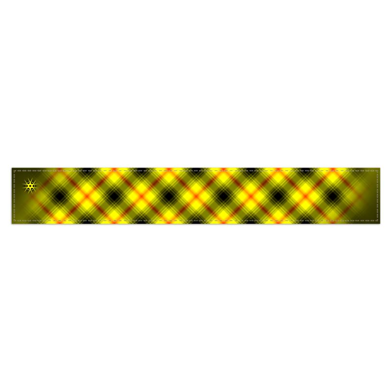 Be aware of the dangers of Coronavirus - Virohazard tartan scarf