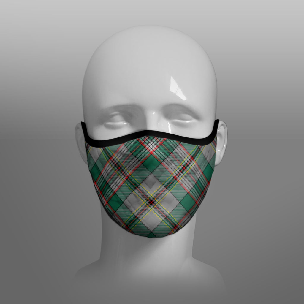 Craig Tartan custom face mask by Steven Patrick Sim the Tartan Artisan - Stevie Tartan Guy - Arbroath